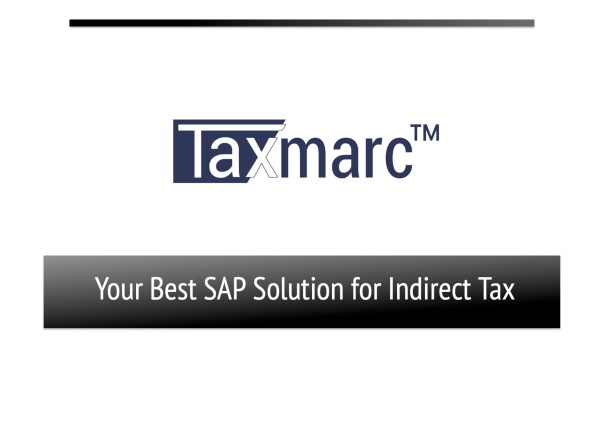 Taxmarc product overview front