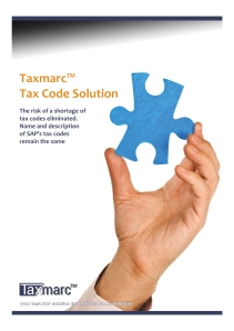 Tax Code Solution front