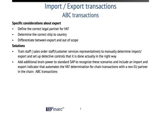 import export abc